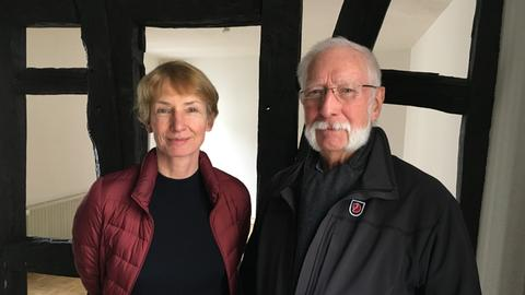 Isabel und Franz Josef Hamm wehren sich gegen den Ausbau.