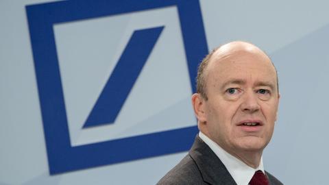 John Cryan, Vorstandsvorsitzender der Deutschen Bank