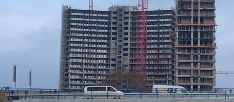 Kaiserlei Baustelle Offenbach