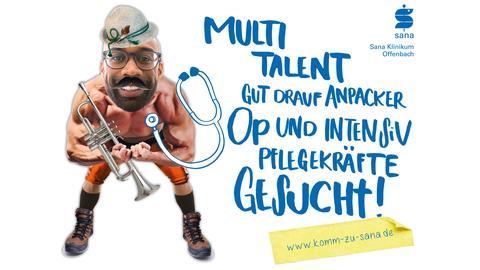 Sana-Klinikum Offenbach Werbekampagne