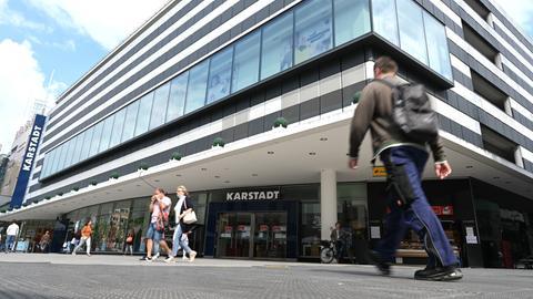 Karstadt-Filiale auf der Frankfurter Zeil