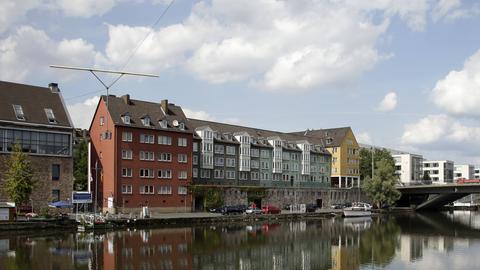 die Fulda in Kassel