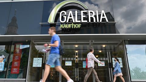 Kaufhof-Filiale in Frankfurt