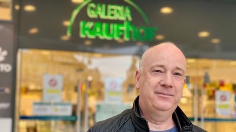 Der Betriebsratvorsitzende von Galeria Kaufhof in Fulda, Michael Kretsch