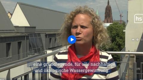 Stadt Frankfurt zur Wasserversorgung