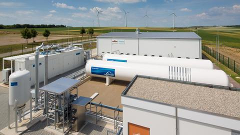 Klimawandel Hessen Wasserstoff