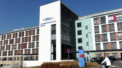Die zur Rhön-Klinikum AG gehörende Uni-Klinik in Gießen.