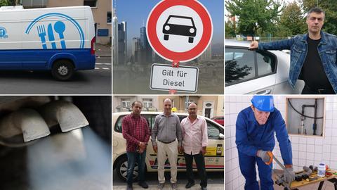 Dieselverbot in Frankfurt - interviewte Dieselfahrzeugnutzer
