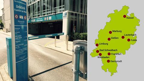 Parkgebühren hessischer Kliniken