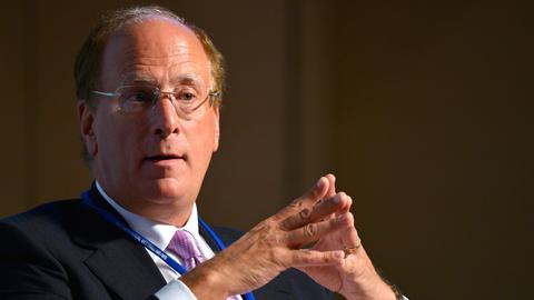 Laurence Fink, Chef des US-Finanzkonzerns Blackrock