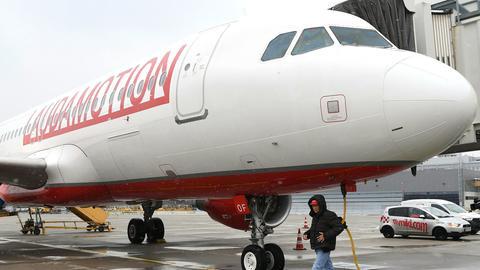 Flugzeug von Laudamotion