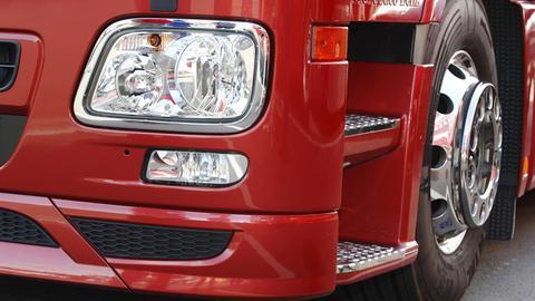 Front eines Lastwagens