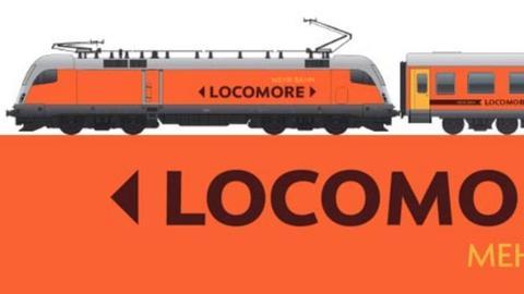 Skizze eines Locomore-Zugs