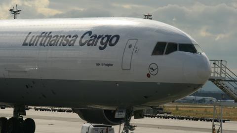 Flugzeug von Lufthansa Cargo
