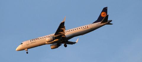 Ein Lufthansa-Flieger.