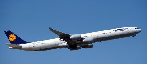 A340 der Lufthansa