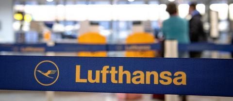 Lufthansa Schalter