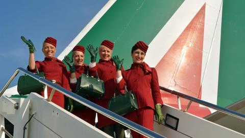 Alitalia-Flugbegleiterinnen
