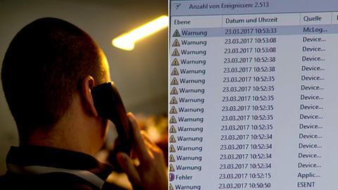 Collage zum Microsoft Scam