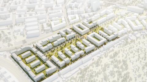 Modell Schönhof-Viertel