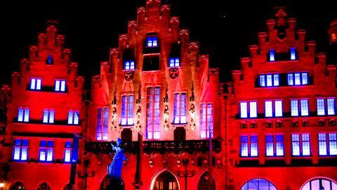 Altstadt angeleuchtet