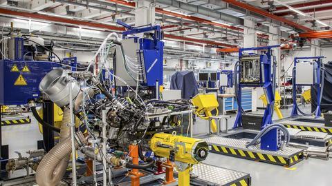 Blick in das Opel-Entwicklungszentrum.