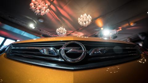 Der Opel Ampera-E im November 2016 bei seiner Präsentation in Frankfurt. 2017 soll er vom Band laufen.