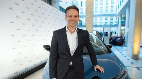 Uwe Hochgeschurtz, der neue Vorstandsvorsitzende beim Rüsselsheimer Autobauer Opel.