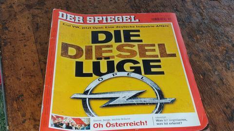 Spiegel-Titelgeschichte zu Opel