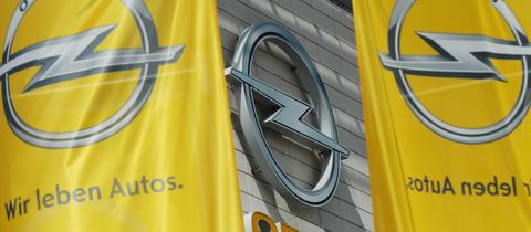 Opel-Zentrale in Rüsselheim