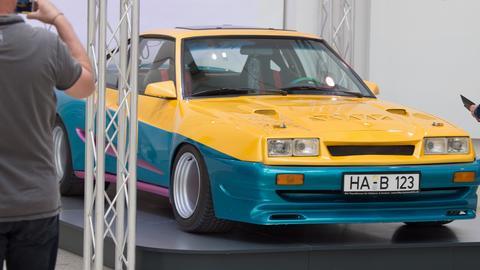 "Opel Manta aus der Actionkomödie ""Manta, Manta"""