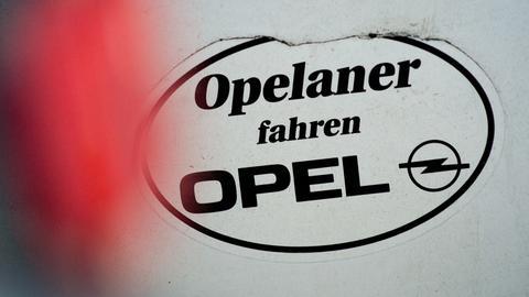 Aufkleber: Opelaner fahren Opel
