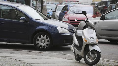 Parkplätze in der Stadt: ein rares Gut