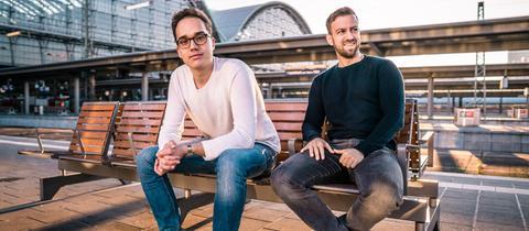 Sebastian Hennig und Michael Zierlein