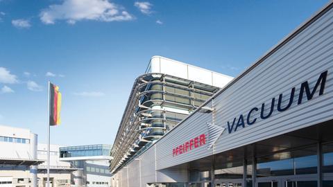 Pfeiffer-Vacuum-Firmenzentrale Aßlar