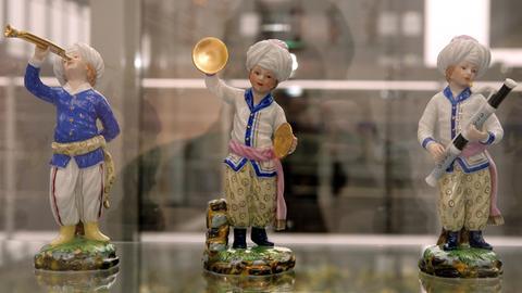 Porzellanfiguren aus Höchst.