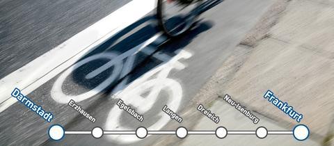 Machbarkeitsstudie zu Radschnellweg