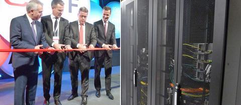 Rechenzentrumsanbieter e-shelter eröffnet seinen achten Bauteil in Frankfurt