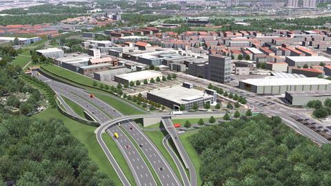 Riederwaldtunnel Frankfurt