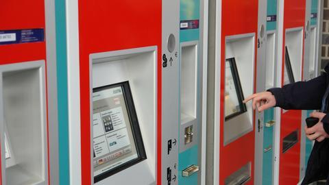 RMV-Fahrscheinautomat