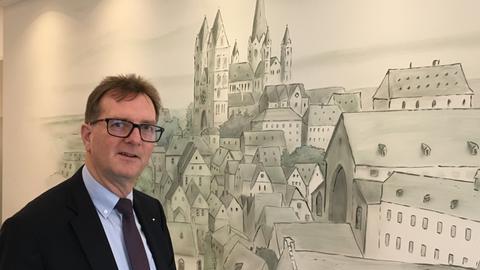 Klaus Rohletter, Geschäftsführer des Dom Hotels.
