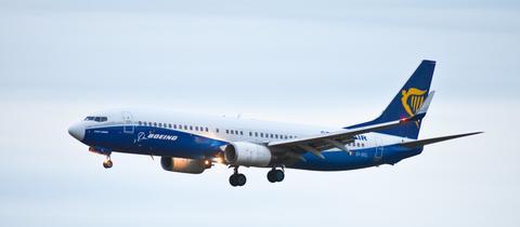 Ryanair Flieger im FLug