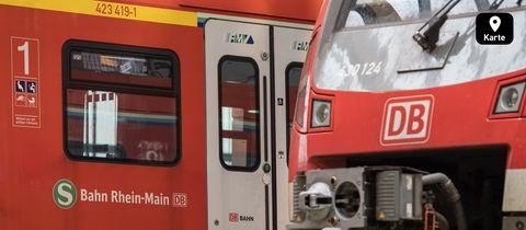 S-Bahnen in Frankfurt
