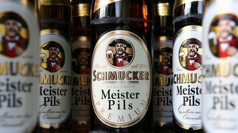 Schmucker falsche Etiketten alkoholfrei