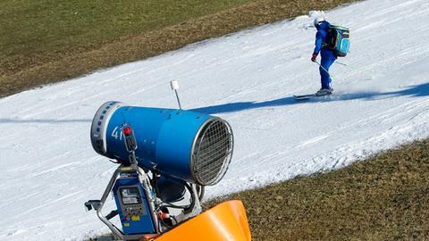 Skigebiete Hessen kein Schnee