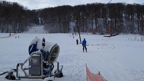 Großstadt-Skilift in Kassel
