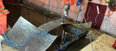 Stahlbrücke aus dem 3D-Drucker