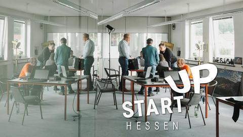Das Foto zeigt ein modernes Co-Working-Büro.