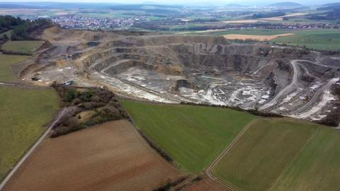 Steinbruch in Großenlüder-Müs