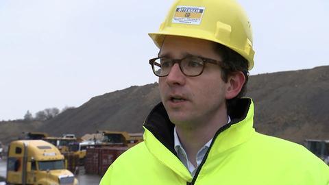 Christian Müller, Junior-Chef des Zementwerks in Großenlüder-Müs